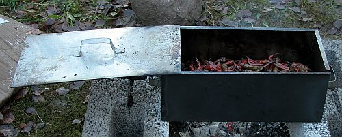 Small smoking box for small batches